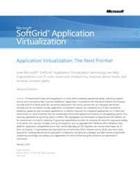 Microsoft Softgrid Application Virtualiz... by Microsoft Corporation