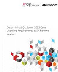 Determining Sql Server 2012 Core by Microsoft Corporation