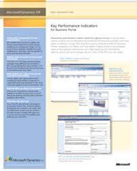 Microsoft Dynamics™ Gp: Key Performance ... by Microsoft Corporation