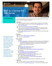 Microsoft: Rap as a Service for Sql Serv... by Microsoft Corporation