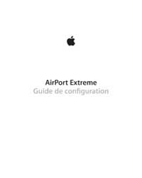 Apple Support Manuals : Airport Extreme ... by Apple Computer Inc.