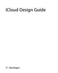 Apple Support Manuals : Icloud Design Gu... by Apple Computer Inc.