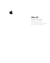 Apple Support Manuals : Imac G5-isight-u... by Apple Computer Inc.