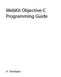 Apple Support Manuals : Webkit Displaywe... by Apple Computer Inc.