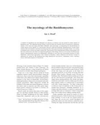 The Mycology of the Basidiomycetes by Hood, Ian A.