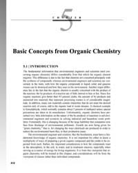 Basic Concepts from Organic Chemistry by Chang, R.