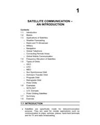 Satellite Communication an Introduction by Technical Books Center