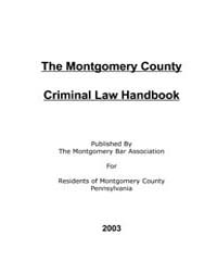 The Montgomery Country Criminal Law Hand... by Technical Books Center