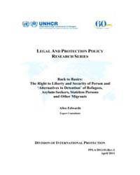 Legal and Protection Policy Research Ser... by Edwards, Alice