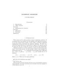 Algebraic Geometry Caucher Birkar by Birkar, Caucher