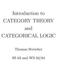Introduction to Category Theory and Cate... by Streicher, Thomas