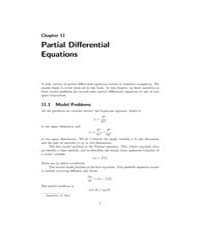 Partial Differential Equations by Moler, Cleve