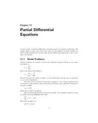 Partial Differential Equations, Chapter ... by Walker, David W.
