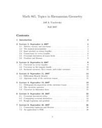 Math 865, Topics in Riemannian Geometry by Viaclovsky, Jeff A.