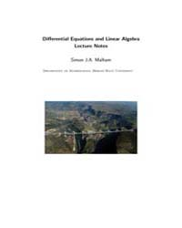 Differential Equations and Linear Algebr... by Malham, Simon J.A.