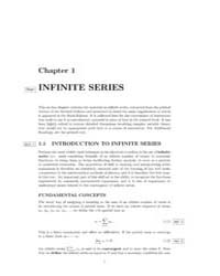 Notes on Infinite Mathematical Series by Technical Books Center