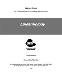 Epidemiology Lecture Notes by Yigzaw Kebede
