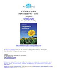 Homeopathy for Plants, II Edition by Technical Books Center