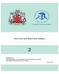 Day Case and Short Stay Surgery by Verma, R