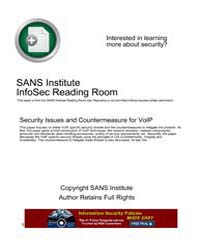 Security Issues and Countermeasure for V... by Xin, Jianqiang