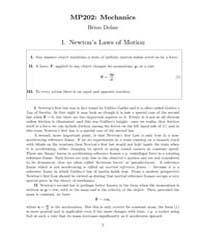 Mp202: Mechanics by Dolan, Brian