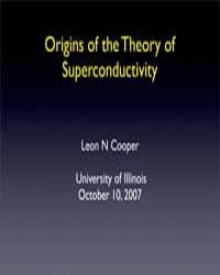 Origins of the Theory of Superconductivi... by Cooper, Leon N