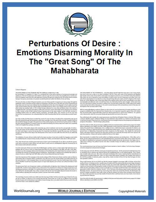 Perturbations of Desire : Emotions Disar... by Bilimoria
