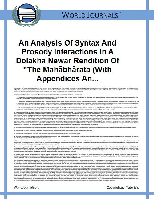 An Analysis of Syntax and Prosody Intera... by Slater
