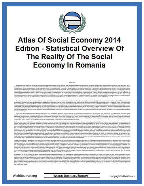 Atlas of Social Economy 2014 Edition - S... by Cristina Barna