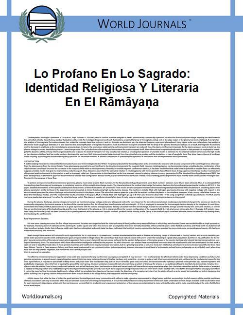 Lo Profano En Lo Sagrado: Identidad Reli... by Figueroa Castro