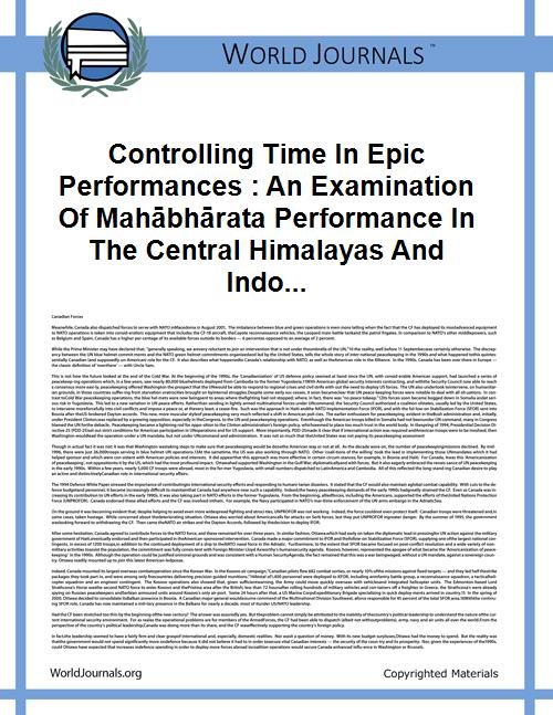 Controlling Time in Epic Performances : ... by Alter