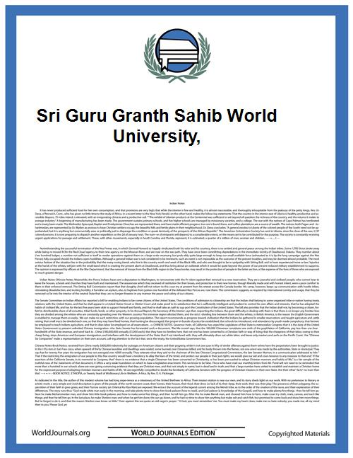 Sri Guru Granth Sahib World University, by Gagandeep Kaur