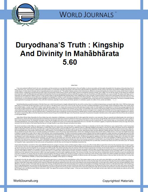 Duryodhana's Truth : Kingship and Divini... by Malinar
