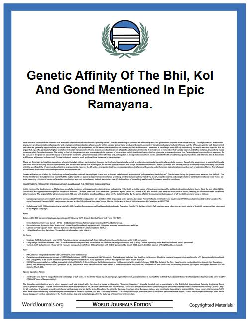 Genetic Affinity of the Bhil, Kol and Go... by Gyaneshwer Chaubey