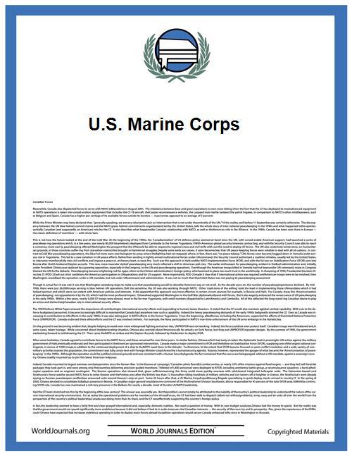 U.S. Marine Corps by P Cn