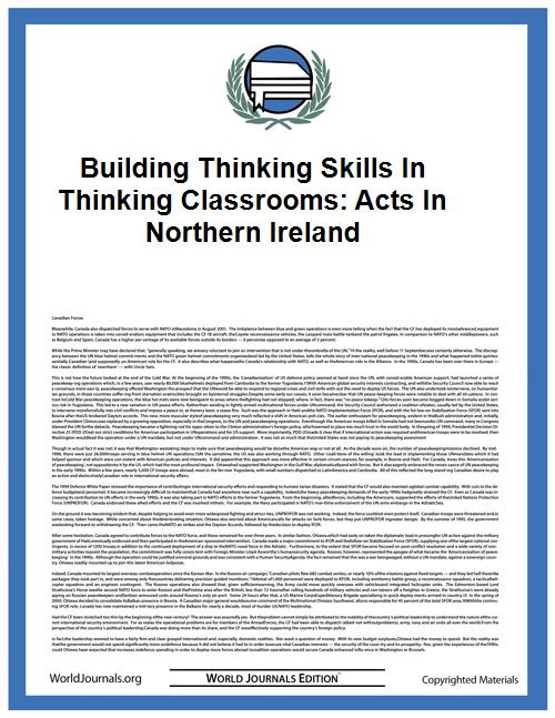 Building Thinking Skills in Thinking Cla... by Carol McGuinness