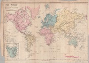 The World on Mercator's Projection : to ... by J.C. Smith & Son