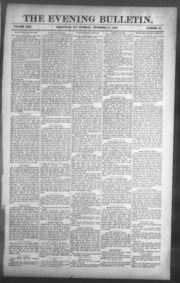 Evening Bulletin (Maysville, Ky. : 1887)... by Evening Bulletin (Maysville, Ky. : 1887)
