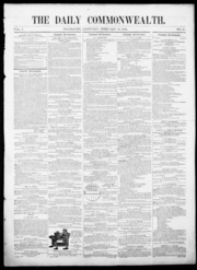 Daily Commonwealth (Frankfort, Ky.): 184... by Daily Commonwealth (Frankfort, Ky.)