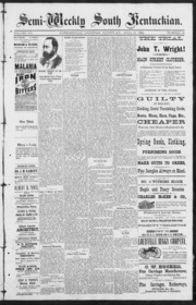 Semi-Weekly South Kentuckian (Hopkinsvil... by Semi-Weekly South Kentuckian (Hopkinsville, Ky.)