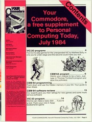 Your Commodore 00-84 (Jul 84-Oct 91) by