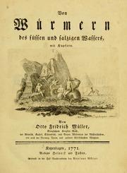 Von Würmern Des Süssen Und Salzigen Wass... by Müller, Otto Frederik, 1730-1784