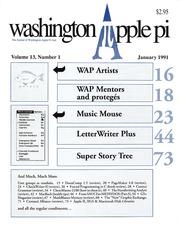Washington Apple Pi Journal January 1991 by