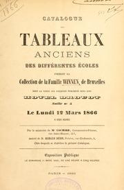 Catalogue Des Tableaux Anciens Des Diffé... by Hôtel Drouot