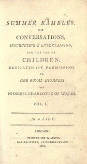 Summer Rambles, Or, Conversations, Instr... by Semple, Elizabeth, Fl. 1804-1816