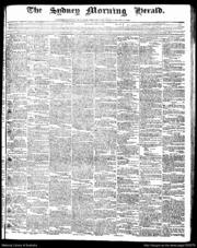 The Sydney Morning Herald 04-05-1843 by Fairfax Media