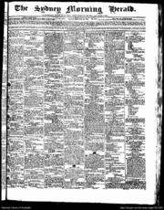The Sydney Morning Herald 23-02-1844 by Fairfax Media