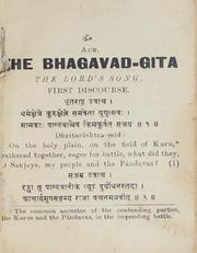 The Bhagavad-Gita by S,venkataraman