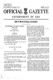 Gazette of Goa, No. 8990-44, Si by Government of Goa