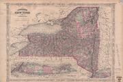 Johnson's New York by Johnson, A. J. (Alvin Jewett), 1827-1884
